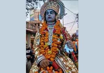 श्री राम बारात की झलकियाँ
