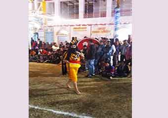 सीता हरण की लीला मे साधु रावण
