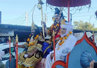 रामलीला में महादेव की लीला