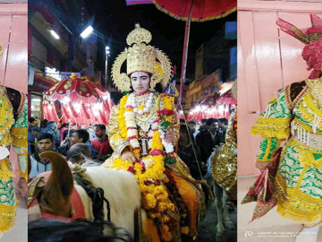रामलीला मेला विदिशा 'ताड़का वध' || Vidisha mela 2020 by Nk Shakya ||